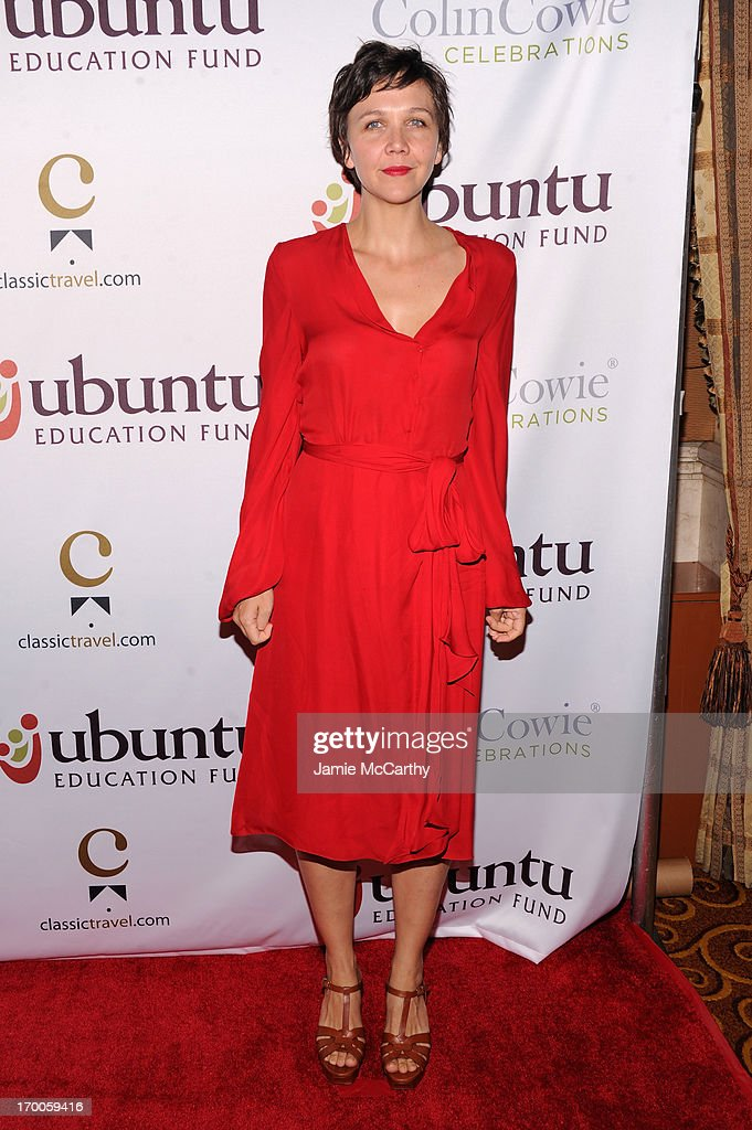 Actress Maggie Gyllenahaal attends the Annual Ubuntu Education Fund NY Gala at Gotham Hall on June 6, 2013 in New York City.