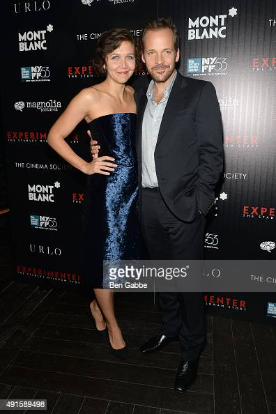 Actress Maggie Gyllenhaal and actor Peter Sarsgaard attend the party for the 53rd New York Film Festival's premiere of Magnolia Pictures'...