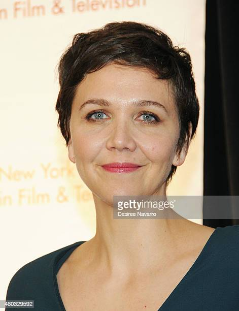 Actress Maggie Gyllenhaal attends 34th Annual New York Women In Film And Television Muse Awards at New York Hilton Midtown on December 11 2014 in New...