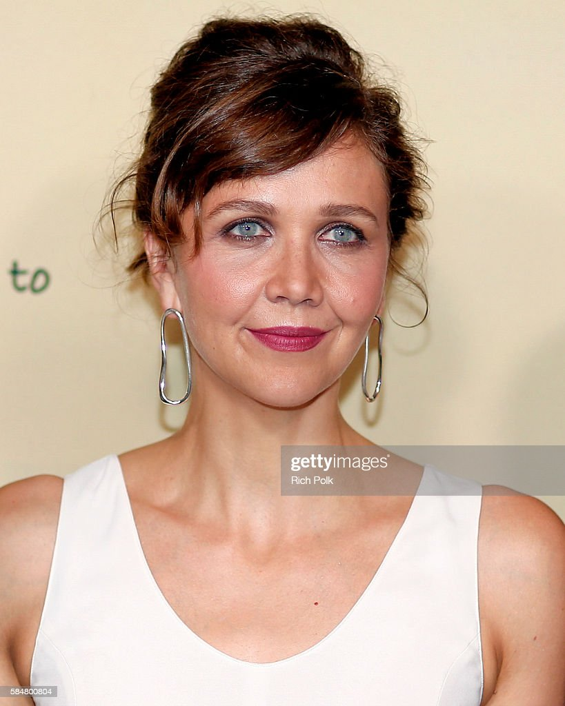 Actress Maggie Gyllenhaal attends Jameson's 'First Shot' Competition Screening Party at Paramount Studios on July 30 2016 in Hollywood California