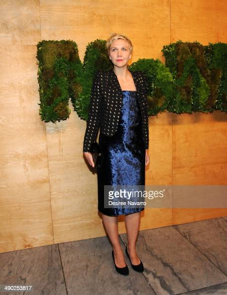 Actress Maggie Gyllenhaal attends Museum Of Modern Art's 2014 Party In The Garden at Museum of Modern Art on May 13 2014 in New York City