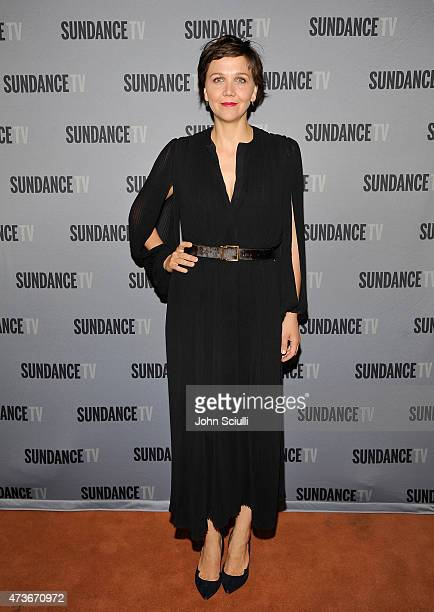 Actress Maggie Gyllenhaal attends SundanceTV's presentation of panel discussions featuring creators and stars of 'Rectify' and 'The Honorable Woman'...