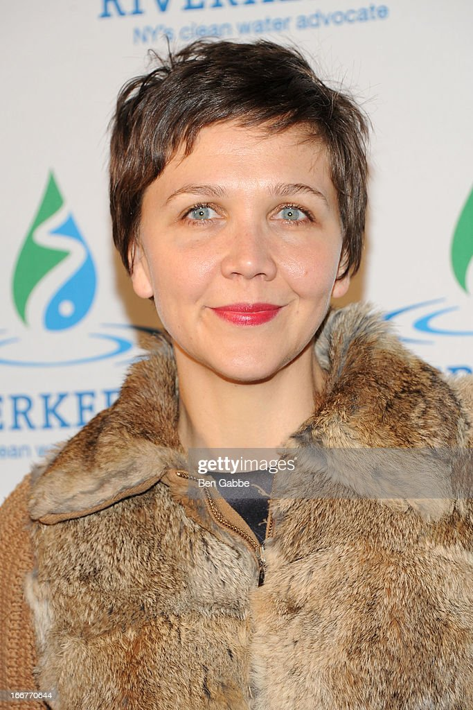 Actress Maggie Gyllenhaal attends the 2013 Riverkeeper's Fishermen's Ball at Pier 60 on April 16, 2013 in New York City.