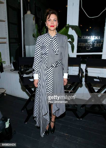 Actress Maggie Gyllenhaal attends the BE BOLD FOR CHANGE panel event in celebration of International Women's Day hosted by keds and Refinery29 at...
