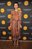 Actress Maggie Gyllenhaal attends the Celebrate Sundance Institute benefit for its Theatre Program supported by CÎROC Vodka at the Stephen Weiss...