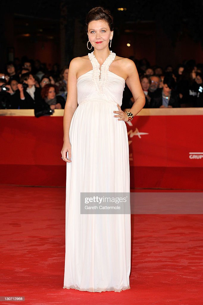 Actress Maggie Gyllenhaal attends the 'Hysteria' Premiere during the 6th International Rome Film Festival on October 28, 2011 in Rome, Italy.