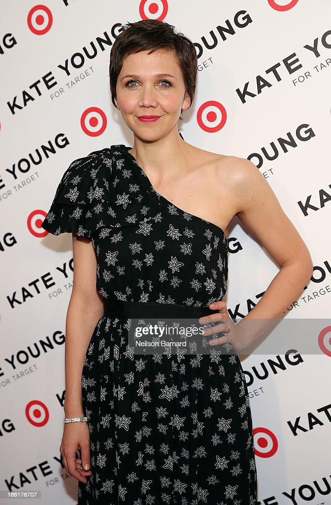 Actress Maggie Gyllenhaal attends the Kate Young for Target launch event on April 9, 2013 in New York City.