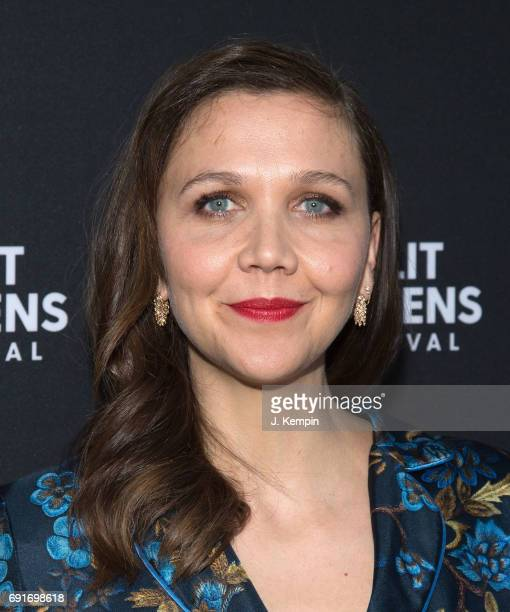 Actress Maggie Gyllenhaal attends the premiere of 'The Deuce' at IFC Center on June 2 2017 in New York City