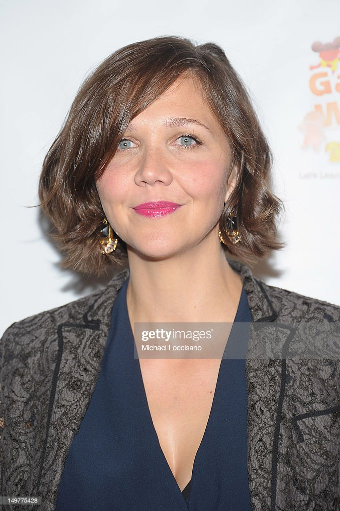 Actress <a gi-track='captionPersonalityLinkClicked' href=/galleries/search?phrase=Maggie+Gyllenhaal&family=editorial&specificpeople=202607 ng-click='$event.stopPropagation()'>Maggie Gyllenhaal</a> attends the 'Won't Back Down' screening at NYIT Auditorium on August 3, 2012 in New York City.