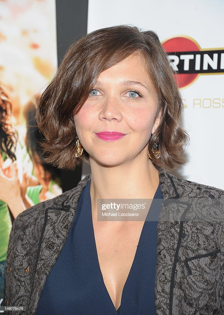 Actress Maggie Gyllenhaal attends the 'Won't Back Down' screening at NYIT Auditorium on August 3, 2012 in New York City.