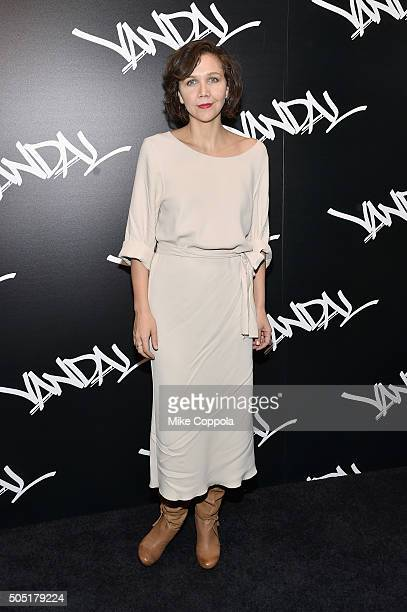 Actress Maggie Gyllenhaal attends VANDAL Grand Opening in New York City on January 15 2016 in New York City