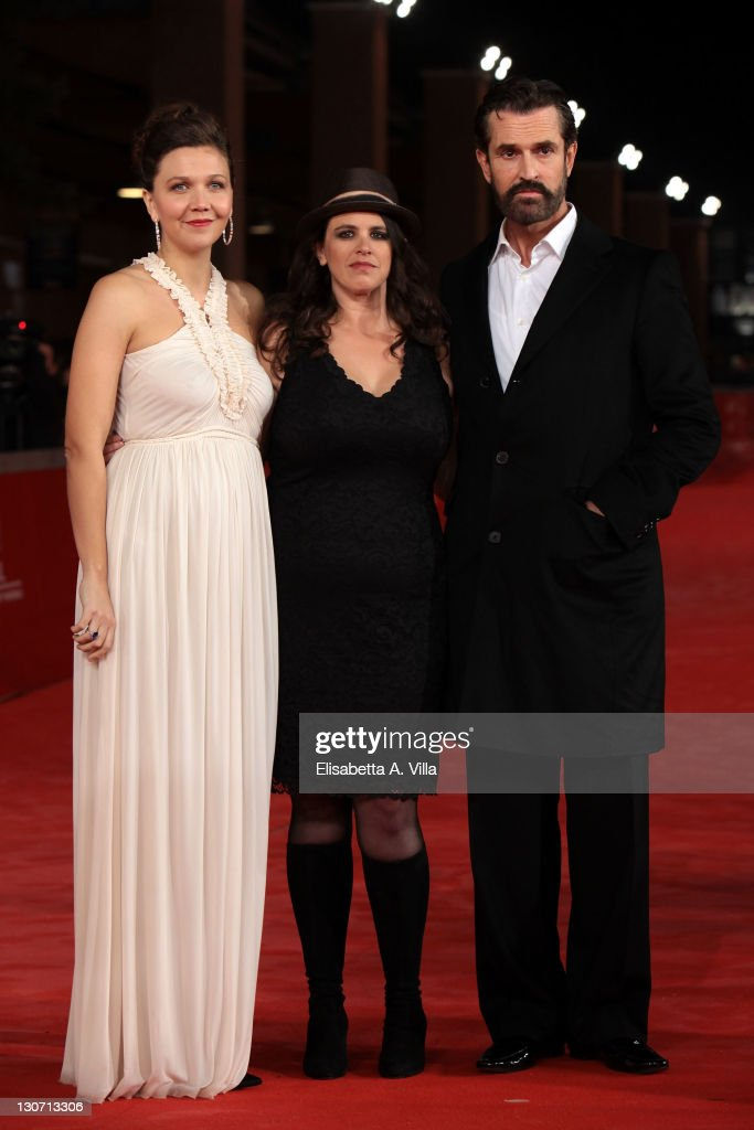 Actress Maggie Gyllenhaal, director Tanya Wexler and actor Rupert Everett attend the 'Hysteria' Premiere during the 6th International Rome Film Festival at Auditorium Parco Della Musica on October 28, 2011 in Rome, Italy.
