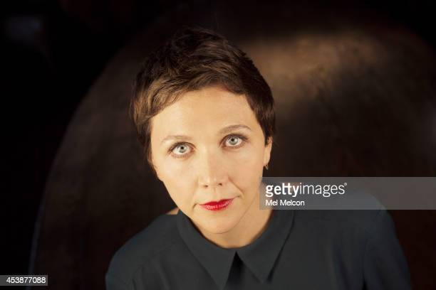 Actress Maggie Gyllenhaal is photographed for Los Angeles Times on July 9 2014 in West Hollywood California PUBLISHED IMAGE CREDIT MUST READ Mel...