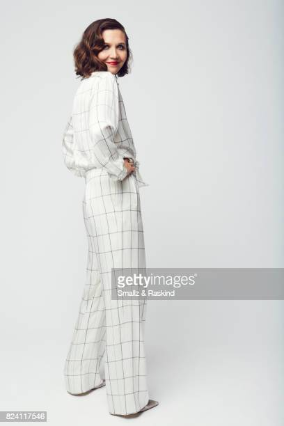 Actress Maggie Gyllenhaal of HBO's 'The Deuce' poses for a portrait during the 2017 Summer Television Critics Association Press Tour at The Beverly...
