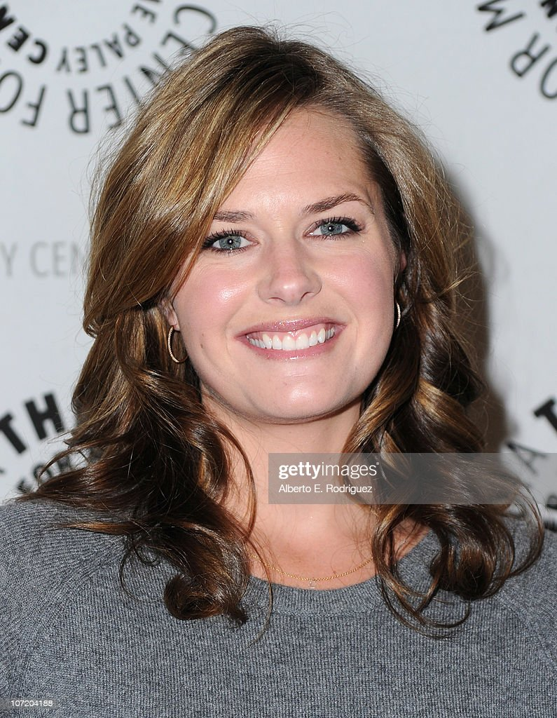 Actress Maggie Lawson arrives to The Paley Center For Media's presentation of a 'Psych' And 'Twin Peaks' Reunion on November 29, 2010 in Beverly Hills, California.