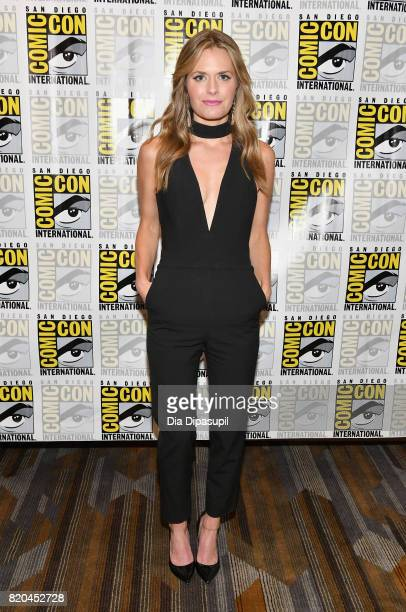 Actress Maggie Lawson at the 'Psych' Press Line during ComicCon International 2017 at Hilton Bayfront on July 21 2017 in San Diego California
