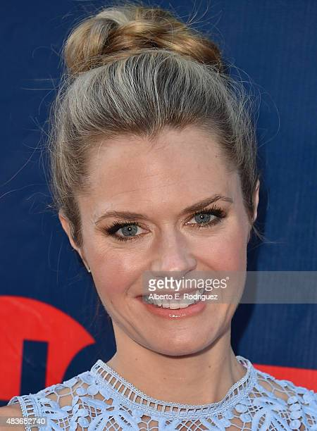 Actress Maggie Lawson attends CBS' 2015 Summer TCA party at the Pacific Design Center on August 10 2015 in West Hollywood California
