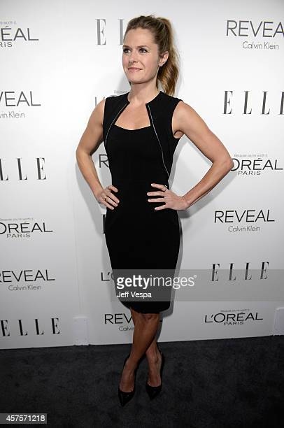 Actress Maggie Lawson attends ELLE's 21st Annual Women in Hollywood Celebration at the Four Seasons Hotel on October 20 2014 in Beverly Hills...