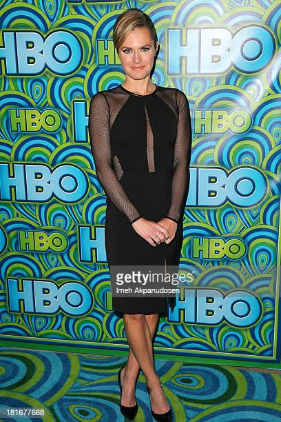 Actress Maggie Lawson attends HBO's Annual Primetime Emmy Awards Post Award Reception at The Plaza at the Pacific Design Center on September 22 2013...