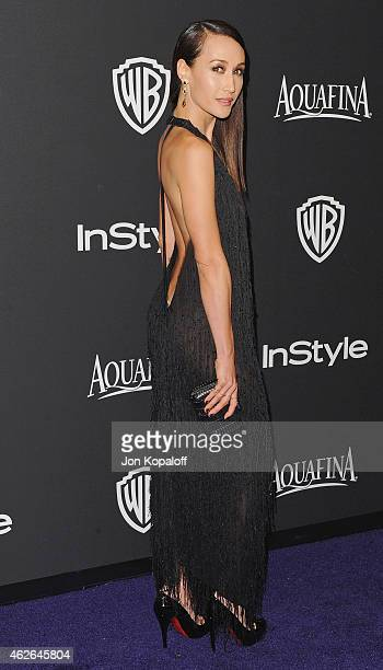 Actress Maggie Q arrives at the 16th Annual Warner Bros And InStyle PostGolden Globe Party at The Beverly Hilton Hotel on January 11 2015 in Beverly...