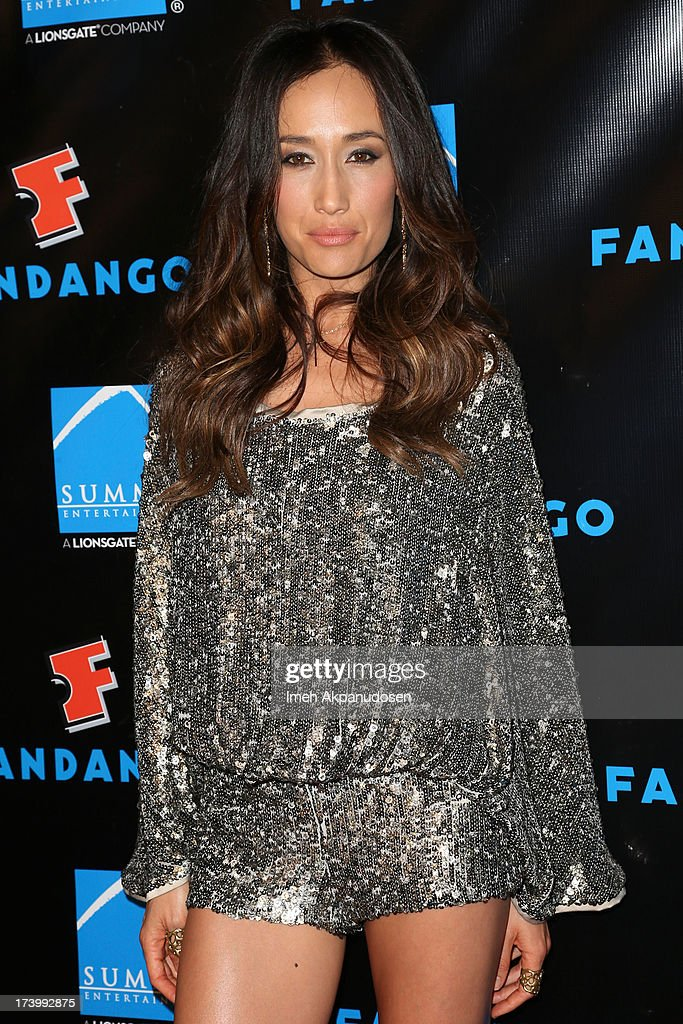 Actress Maggie Q attends Summit Entertainment's Comic-Con Red Carpet Press Event at Hard Rock Hotel San Diego on July 18, 2013 in San Diego, California.
