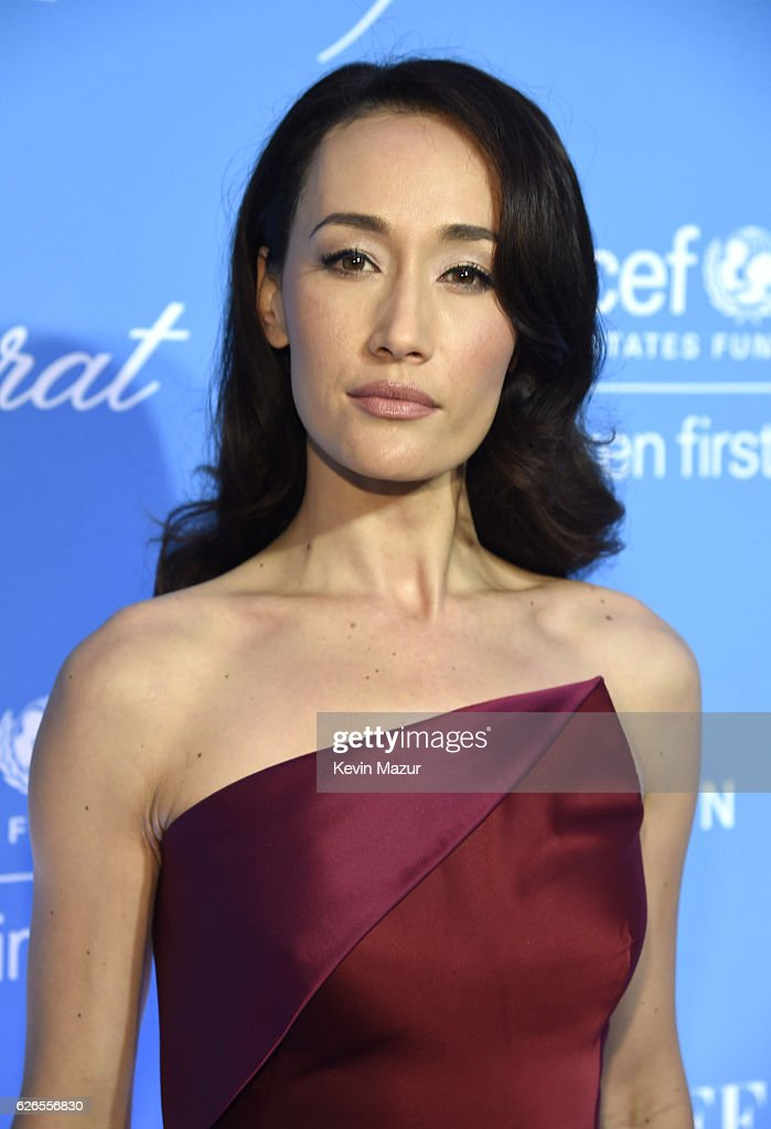 Actress Maggie Q attends the 12th annual UNICEF Snowflake Ball at Cipriani Wall Street on November 29, 2016 in New York City.