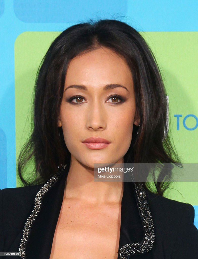 Actress Maggie Q attends the 2010 The CW UpFront at Madison Square Garden on May 20, 2010 in New York City.