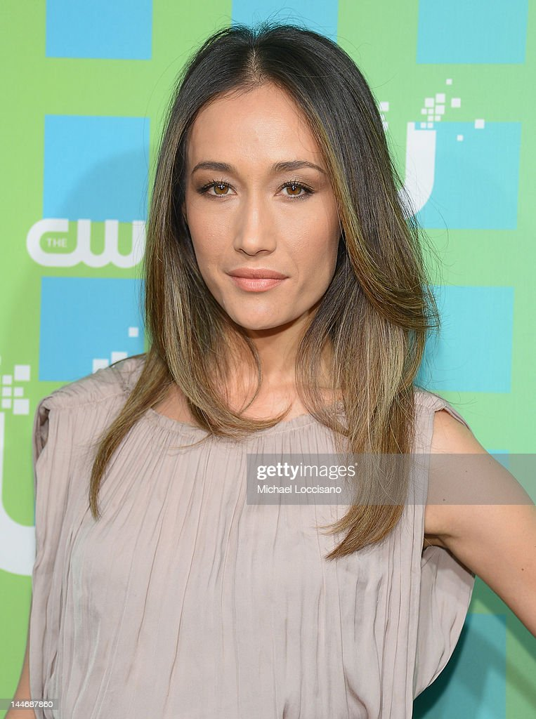 Actress Maggie Q attends The CW Network's New York 2012 Upfront at New York City Center on May 17, 2012 in New York City.
