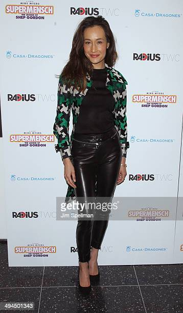 Actress Maggie Q attends the New York premiere of 'The Legend Of Shep Gordon' at The Museum of Modern Art on May 29 2014 in New York City