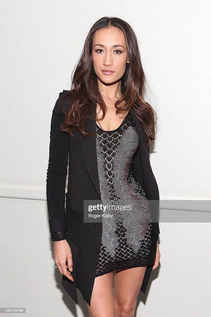 Actress Maggie Q attends the Nikita panel at the 2010 New York Comic Con at the Jacob Javitz Center on October 10, 2010 in New York City.