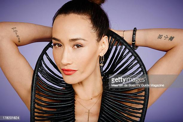 Actress Maggie Q is photographed for TV Guide Magazine on July 19 2013 on the TV Guide Magazine Yacht in San Diego California PUBLISHED IMAGE CREDIT...