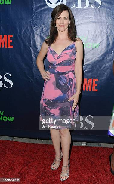 Actress Maggie Siff arrives at CBS CW And Showtime 2015 Summer TCA Party at Pacific Design Center on August 10 2015 in West Hollywood California