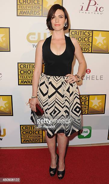 Actress Maggie Siff arrives at the 4th Annual Critics' Choice Television Awards at The Beverly Hilton Hotel on June 19 2014 in Beverly Hills...