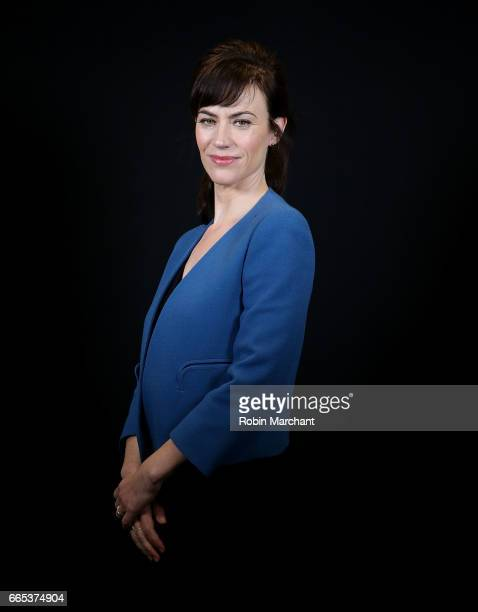 Actress Maggie Siff attends New York Moves Power Women Forum 2017 at SUNY Global Center on April 6 2017 in New York City