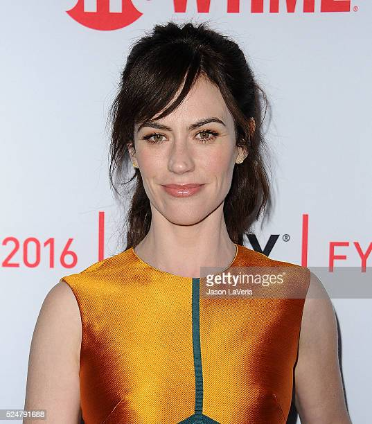 Actress Maggie Siff attends the For Your Consideration screening and panel for Showtime's 'Billions' at The WGA Theater on April 26 2016 in Beverly...
