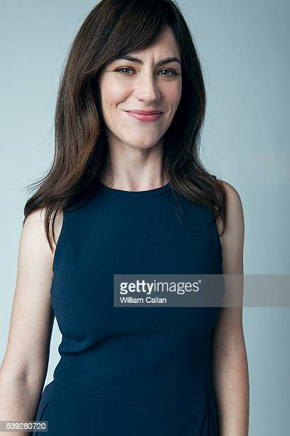 Actress Maggie Siff is photographed for Los Angeles Times on May 9 2016 in Los Angeles California PUBLISHED IMAGE