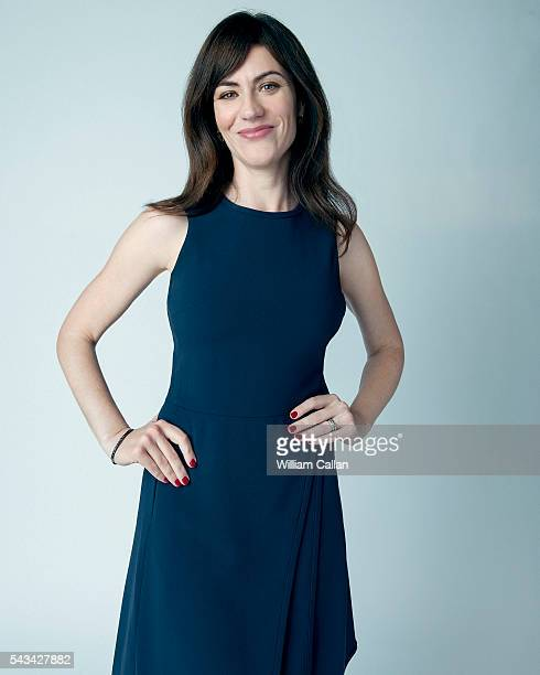 Actress Maggie Siff is photographed for Los Angeles Times on May 9 2016 in Los Angeles California