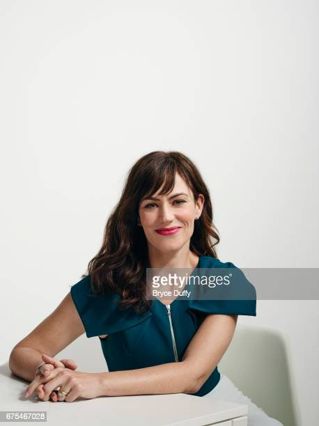 Actress Maggie Siff photographed for Variety on April 3 in Los Angeles California