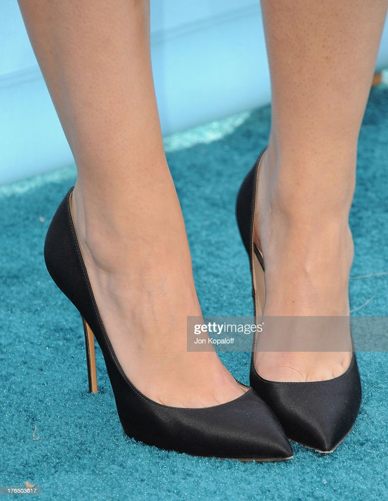 Actress Maia Mitchell arrives at the 2013 Teen Choice Awards at Gibson Amphitheatre on August 11, 2013 in Universal City, California.