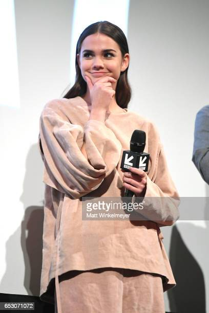 Actress Maia Mitchell speaks onstage during the 'Hot Summer Nights' premiere 2017 SXSW Conference and Festivals on March 13 2017 in Austin Texas