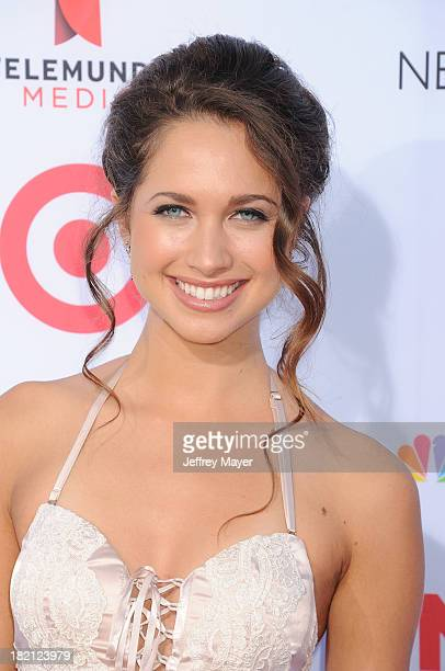 Actress Maiara Walsh arrives at the 2013 NCLA ALMA Awards at Pasadena Civic Auditorium on September 27 2013 in Pasadena California