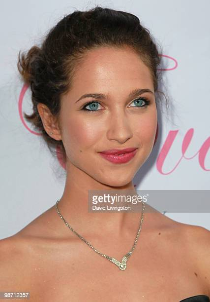 Actress Maiara Walsh attends the launch of Eva Longoria Parker's fragrance 'Eva by Eva Longoria' at Beso on April 27 2010 in Los Angeles California