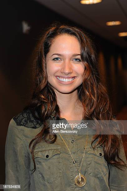 Actress Maiara Walsh attends 'The Starving Games' Hunger Games Spoof meet and greet at AMC Orange 30 on November 9 2013 in Orange California