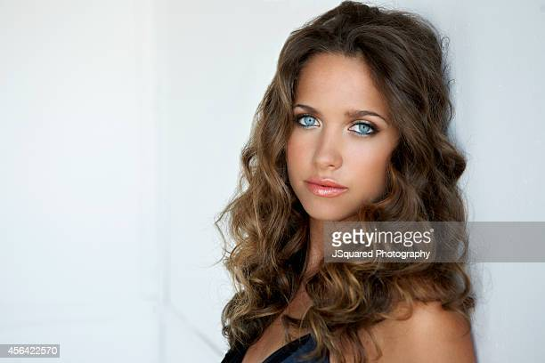Actress Maiara Walsh is photographed for Self Assignment on September 30 2014 in Los Angeles California