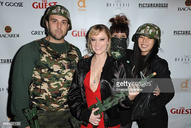 Actress Maika Monroe and guests attend 'The Guest' premiere party during the 2014 Toronto International Film Festival held at Brassaii on September...