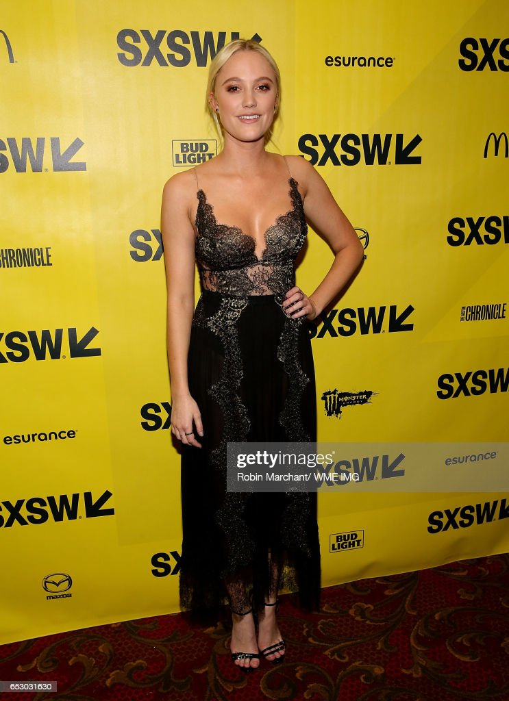 Actress Maika Monroe attends Imperative Entertainment's 'Hot Summer Nights' SXSW world premiere at Paramount Theatre on March 13, 2017 in Austin, Texas.