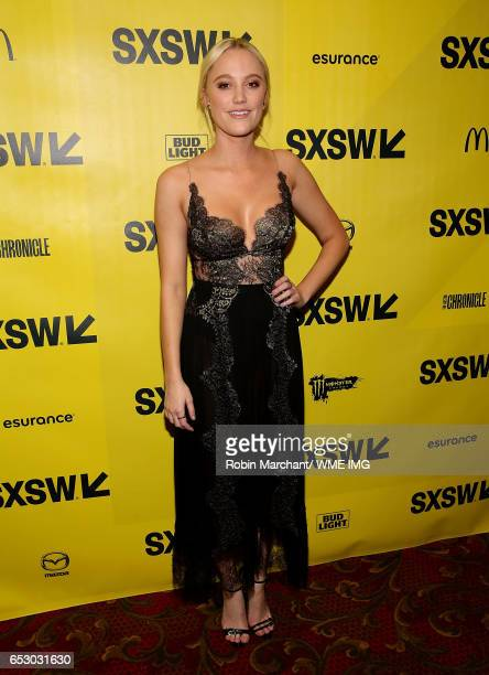 Actress Maika Monroe attends Imperative Entertainment's 'Hot Summer Nights' SXSW world premiere at Paramount Theatre on March 13 2017 in Austin Texas
