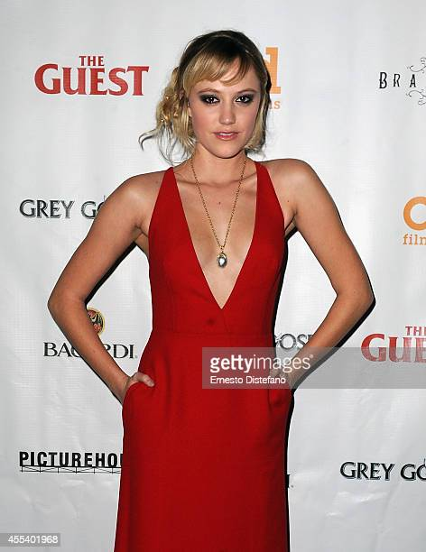 Actress Maika Monroe attends 'The Guest' premiere party during the 2014 Toronto International Film Festival held at Brassaii on September 13 2014 in...