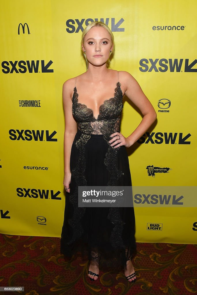 Actress Maika Monroe attends the 'Hot Summer Nights' premiere 2017 SXSW Conference and Festivals on March 13, 2017 in Austin, Texas.