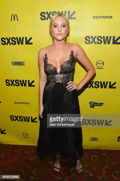 Actress Maika Monroe attends the 'Hot Summer Nights' premiere 2017 SXSW Conference and Festivals on March 13 2017 in Austin Texas